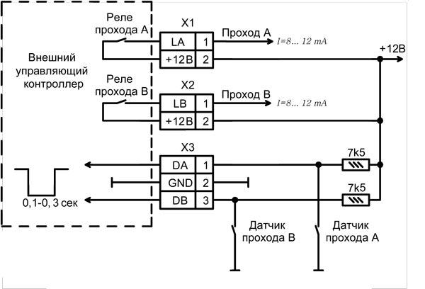Схемы для антикражных систем